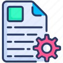 article, content, management icon
