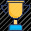 awards, seo, trophy icon