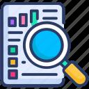 analytics, report, seo icon