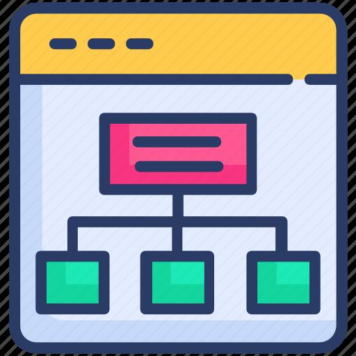 Browser, navigation, sitemap icon - Download on Iconfinder