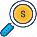 business, market, research, review, revinue, shopping icon