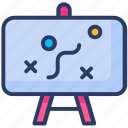 planning, strategy, tactics icon