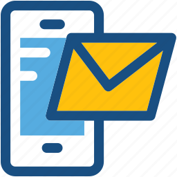 message, mobile, mobile email, mobile massage, send email icon