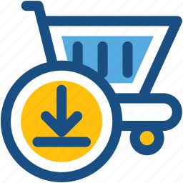 add item, add product, add to basket, add to cart, shopping trolley icon