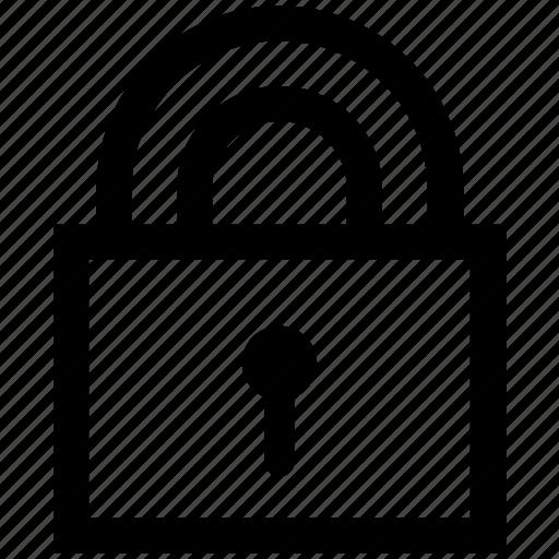 lock, locked, marketing, padlock, security, seo, seo pack icon