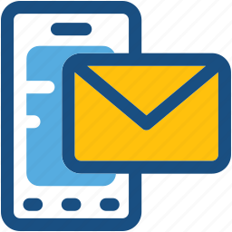 mail, message, mobile, mobile email, mobile massage icon