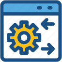 cog, web options, web preferences, web setting, webpage icon