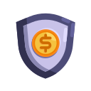 protection, finance, cash, currency, business, money, office icon