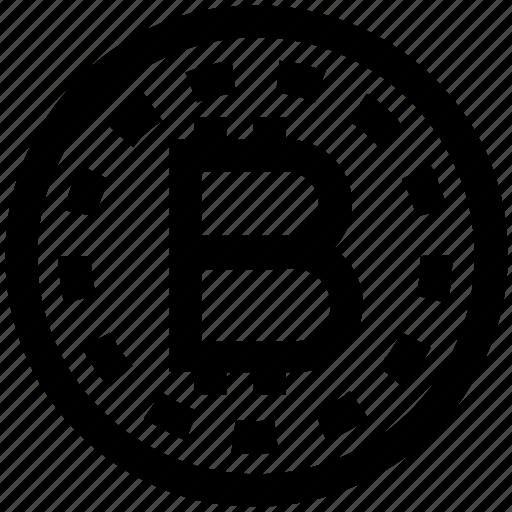 bitcoin, marketing, money, online, seo, web icon