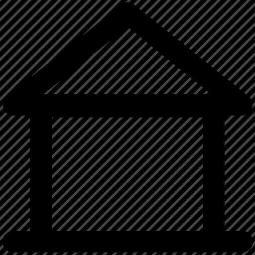 apartment, house, hut, shack, villa, webpage home icon