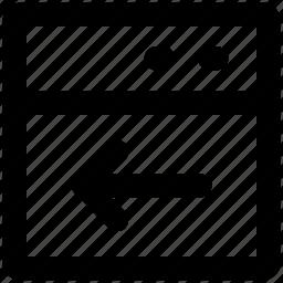 arrow, direction, left, left arrow, left sign, web arrow, west icon