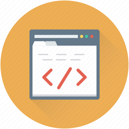 div, html, html code, html coding, web development icon