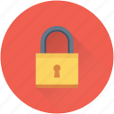 access, lock, padlock, password, protection icon