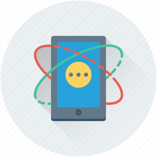 cell phone, communication, mobile, smartphone, technology icon