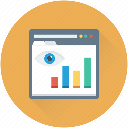 adwords, online graph, seo performance, web analytics, webpage icon