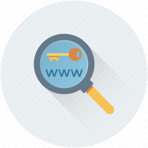 browsing, internet search, search keyword, seo, www icon