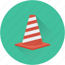 cone pin, construction cone, road cone, traffic cone, traffic cone pin icon