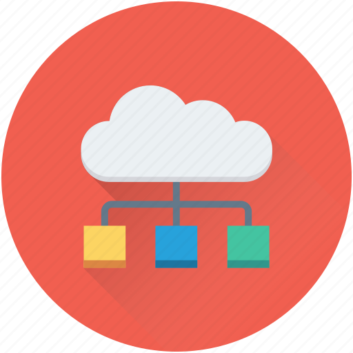 cloud computing, cloud connection, cloud sharing, cloud storage, networking icon
