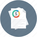 report, sales report, business report, analysis, graph report icon