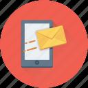 communication, envelope, mobile, mobile massage, sms