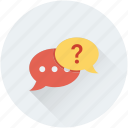 chat, chat bubble, faq, help, question