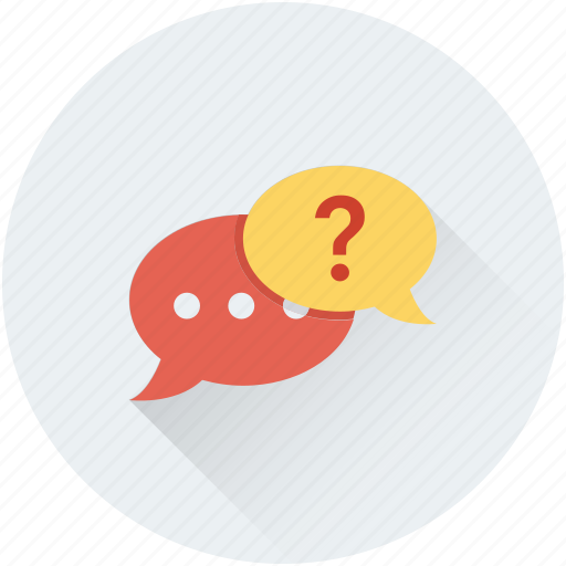 chat, chat bubble, faq, help, question icon