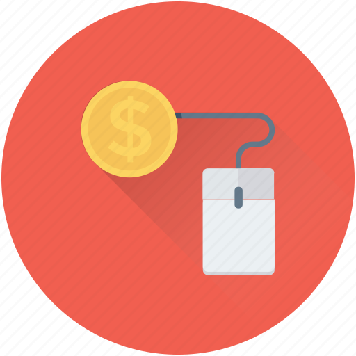 cost per click, online business, online work, pay per click, ppc icon