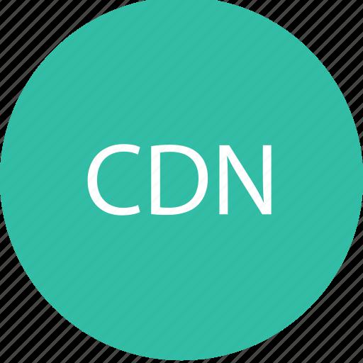 cdn, server, service, web icon