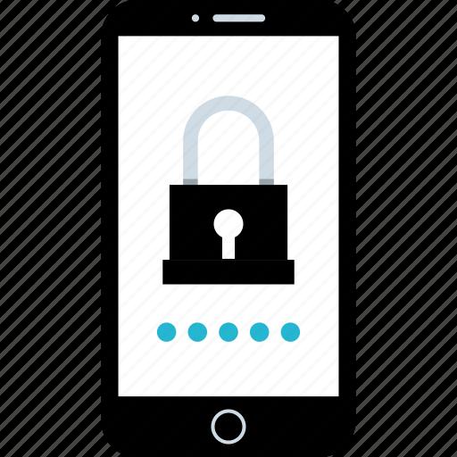 lock, phone, safe, secured icon