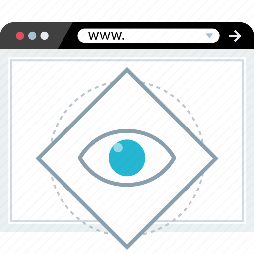 eye, marketing, views, watch icon