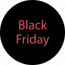 black friday event, event, friday, sale icon