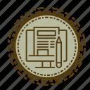 element, marketing, online, seo, web icon