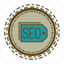 element, marketing, online, seo, web icon