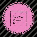 seo, marketing, element, web, online