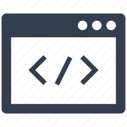 cod, codding, htp, optimization, programing, programist, web page, window icon