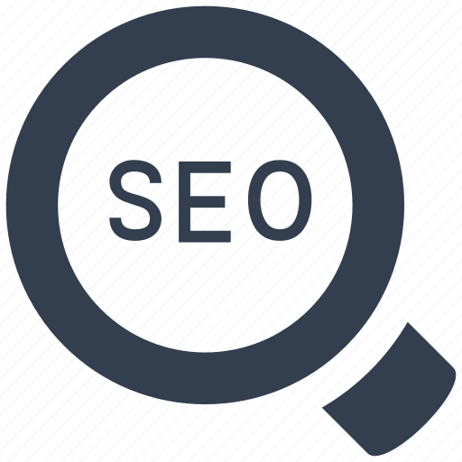 keywords, magnifying glass, manage, optimization, research, search, seo icon