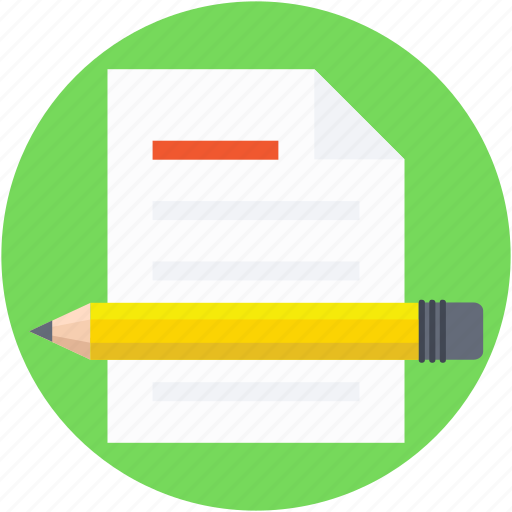 drafting, paper, pencil, sheet, writing icon