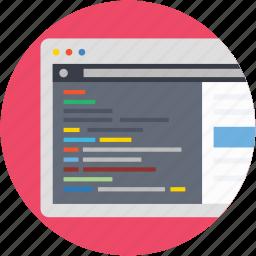 development, ide editor, integrated program, software application, web ide icon