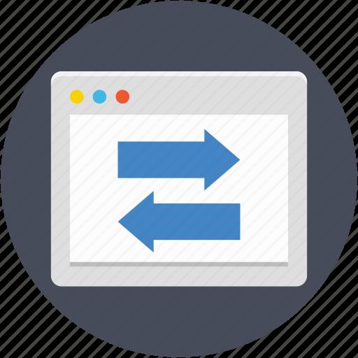data exchange, data sharing, data transfer, online data sharing, webpage icon