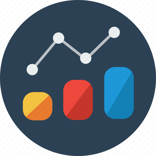 analytics, chart, finance, graph, report, statistics icon