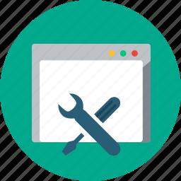 gear, internet, marketing, optimization, seo, web, website icon