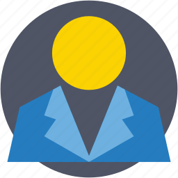 administrator, avatar, business person, businessman, office worker icon