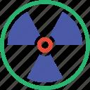 danger, nuclear, radiation, radioactivity, toxic