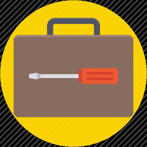 construction tools, garage tools, tool kit, tools box, tools set icon