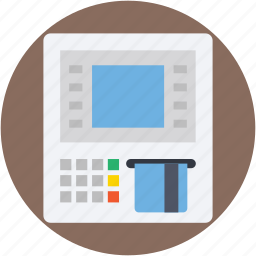 atm, automated teller machine, cash line, payment machine, payment method icon