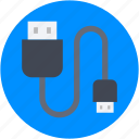computer equipment, connector, hardware, power cable, usb cable icon