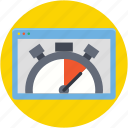 internet speed, speed test, web analyzer, web speed, website speed icon