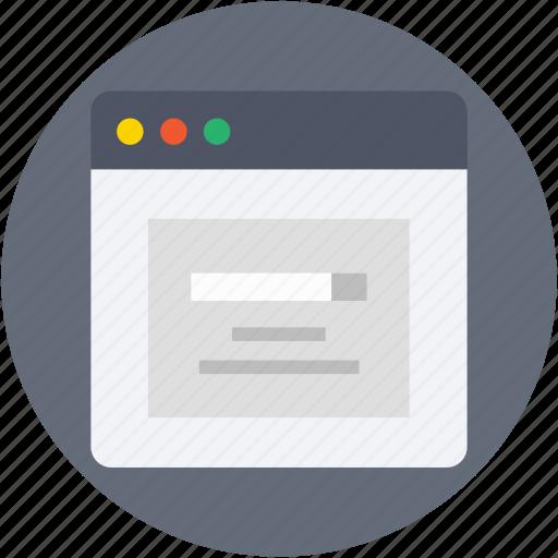 browser, search bar, search box, search engine, windows tab icon
