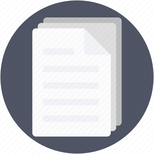 documents, office document, papers, sheets, text sheets icon
