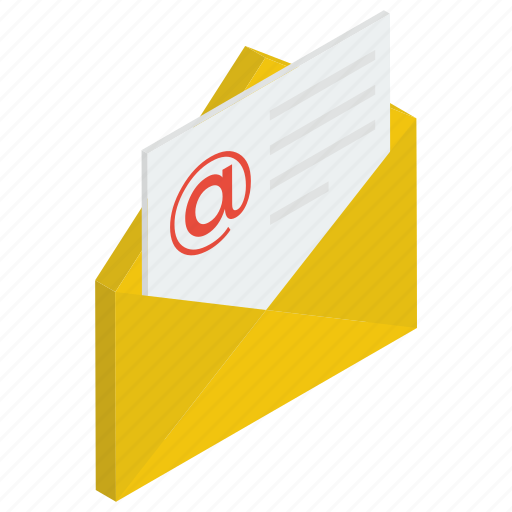 Electronic mail, electronic message, email, mail, written correspondence icon - Download on Iconfinder